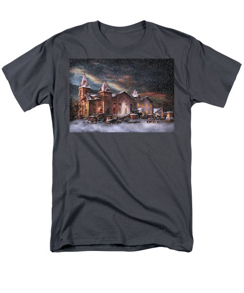 Winter - Clinton NJ - Silent Night  T-Shirt by Mike Savad