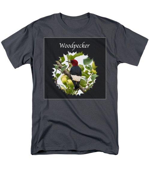 Woodpecker Men's T-Shirt  (Regular Fit) by Jan M Holden