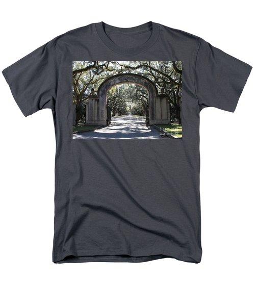 Wormsloe Plantation Gate T-Shirt by Carol Groenen