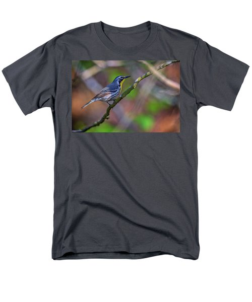 Yellow-throated Warbler Men's T-Shirt  (Regular Fit) by Rick Berk