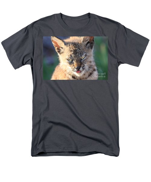 Young Bobcat 04 T-Shirt by Wingsdomain Art and Photography