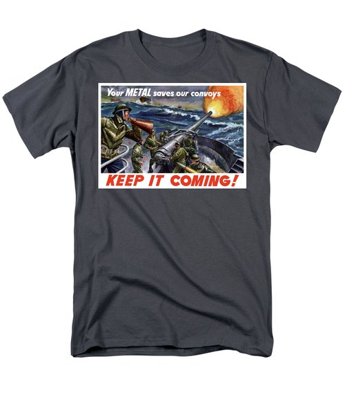 Your Metal Saves Our Convoys T-Shirt by War Is Hell Store