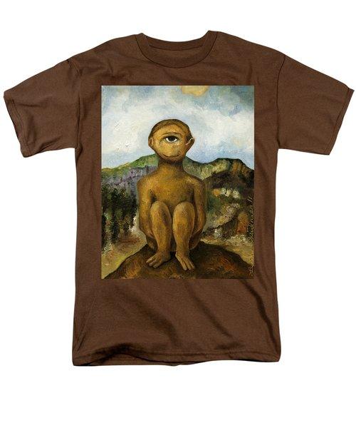 Cyclops Men's T-Shirt  (Regular Fit) by Leah Saulnier The Painting Maniac
