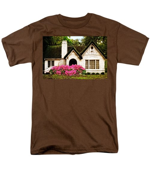 Pink Azaleas - Old Southern Charm By Sharon Cummings T-Shirt by Sharon Cummings