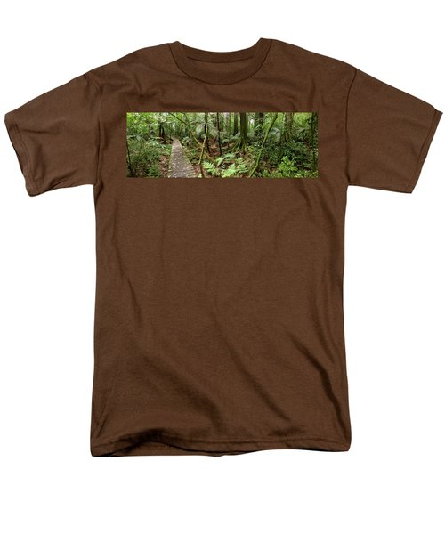 Rain forest T-Shirt by Les Cunliffe