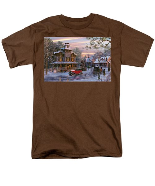 Snow Streets T-Shirt by Dominic Davison