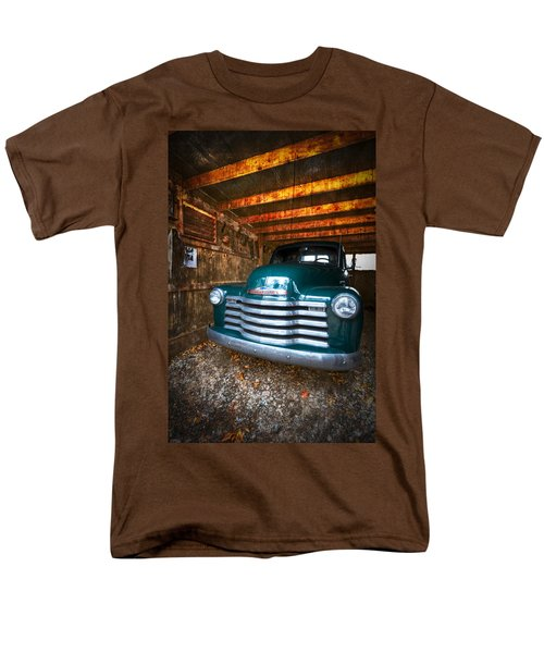 1950 Chevy Truck T-Shirt by Debra and Dave Vanderlaan