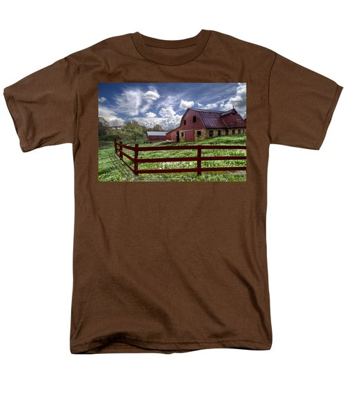 All American T-Shirt by Debra and Dave Vanderlaan