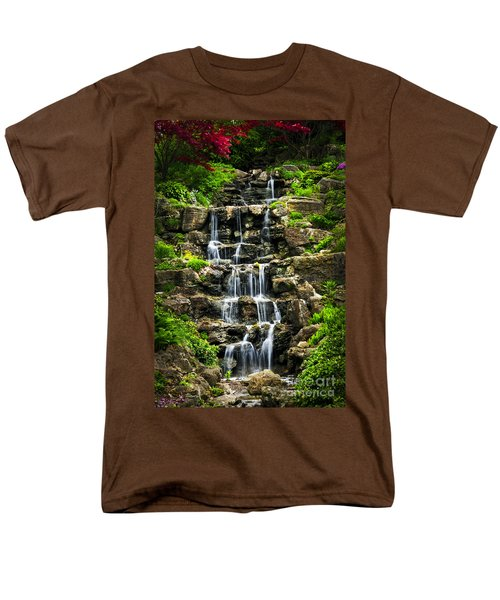 Cascading waterfall T-Shirt by Elena Elisseeva
