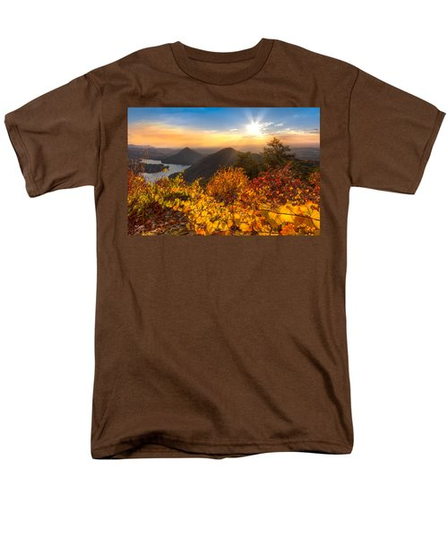 Golden Hour T-Shirt by Debra and Dave Vanderlaan
