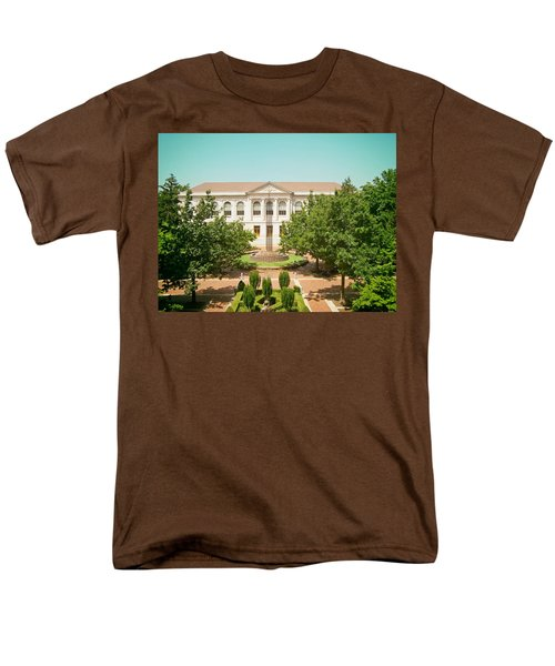 The Old Main - University Of Arkansas Men's T-Shirt  (Regular Fit) by Mountain Dreams