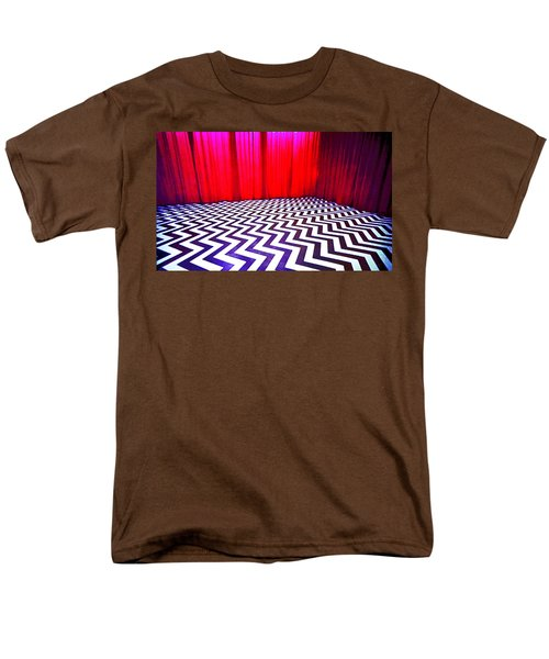 Black Lodge T-Shirt by Luis Ludzska