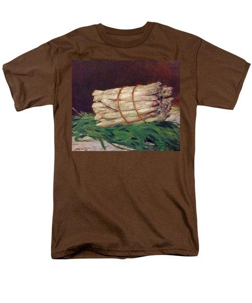 A Bunch Of Asparagus Men's T-Shirt  (Regular Fit) by Edouard Manet