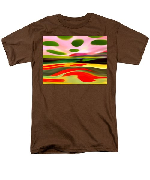 Abstract Landscape of Happiness T-Shirt by Amy Vangsgard