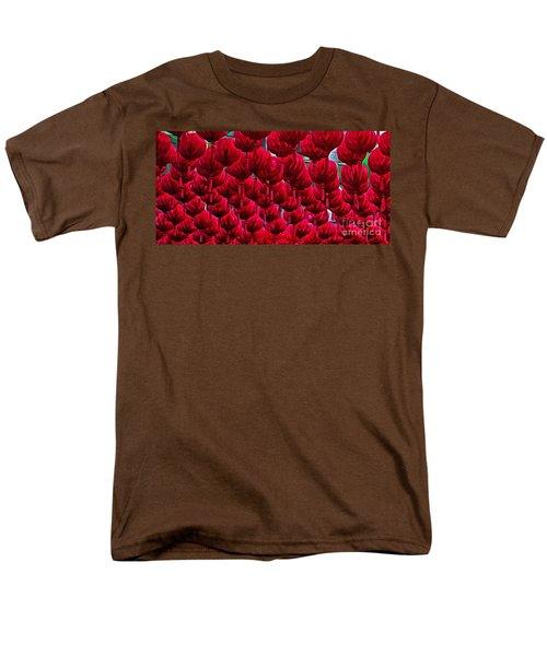 Abstract Lanterns T-Shirt by Kaye Menner
