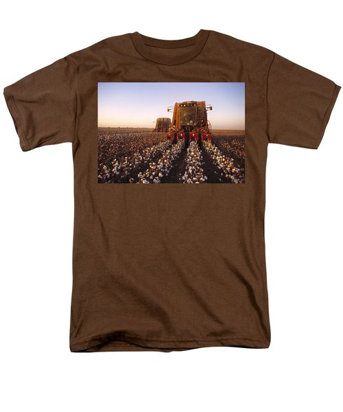 Agriculture - Cotton Harvesting  San T-Shirt by Ed Young