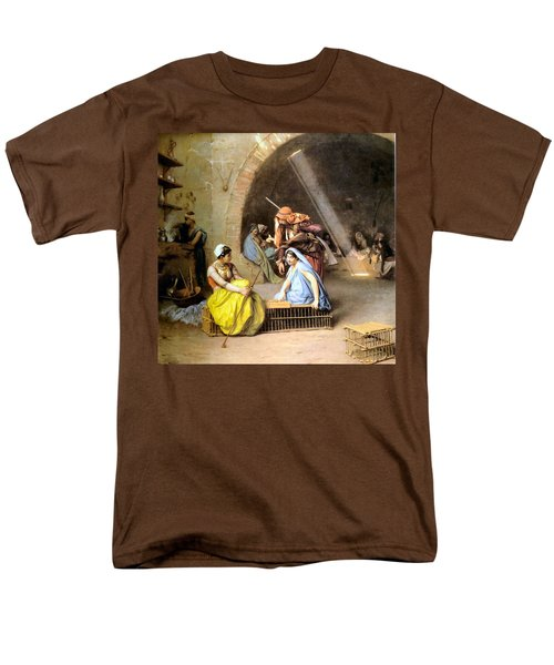 Almehs Playing Chess in  a Cafe T-Shirt by Jean Leon Gerome