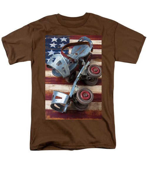American roller skates T-Shirt by Garry Gay