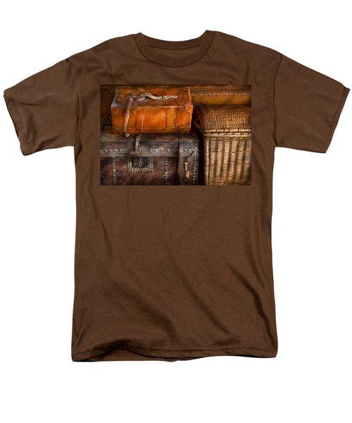 Americana - Emotional baggage  T-Shirt by Mike Savad