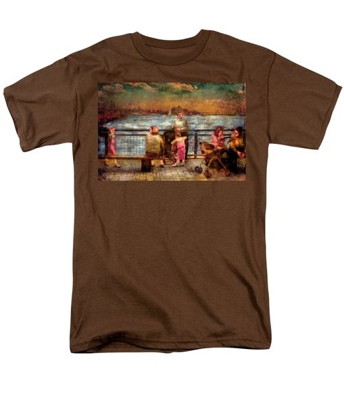 Americana - People - Jewish Families T-Shirt by Mike Savad