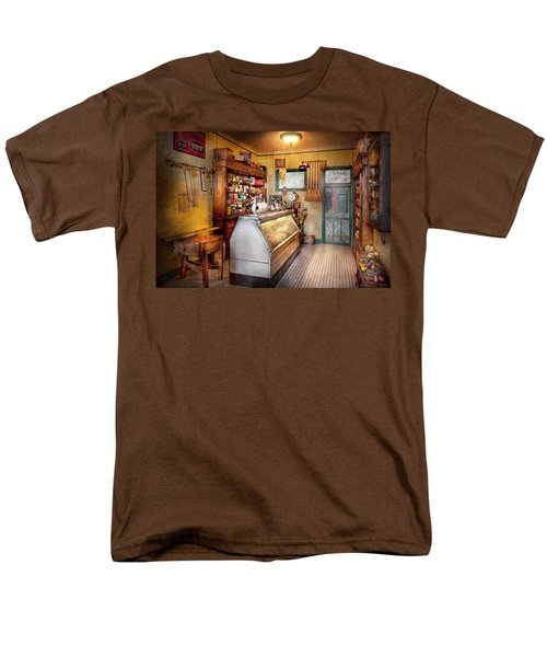 Americana - Store - At the local grocers T-Shirt by Mike Savad