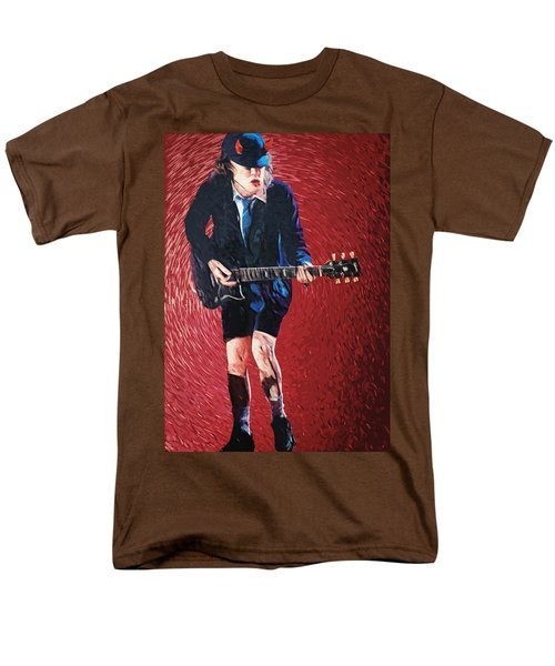 Angus Young T-Shirt by Taylan Soyturk