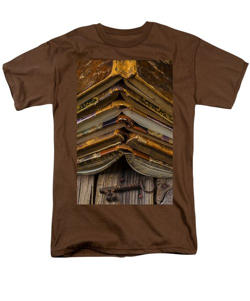 Antique Books T-Shirt by Garry Gay