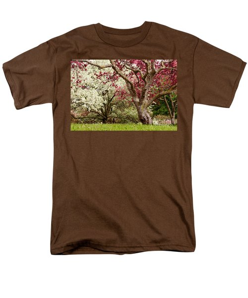 Apple Blossom Colors Men's T-Shirt  (Regular Fit) by Joe Mamer