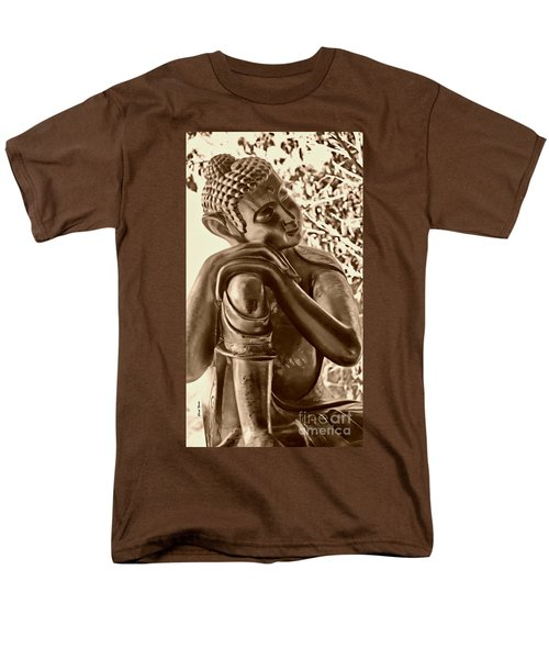At Peace Sepia T-Shirt by Cheryl Young
