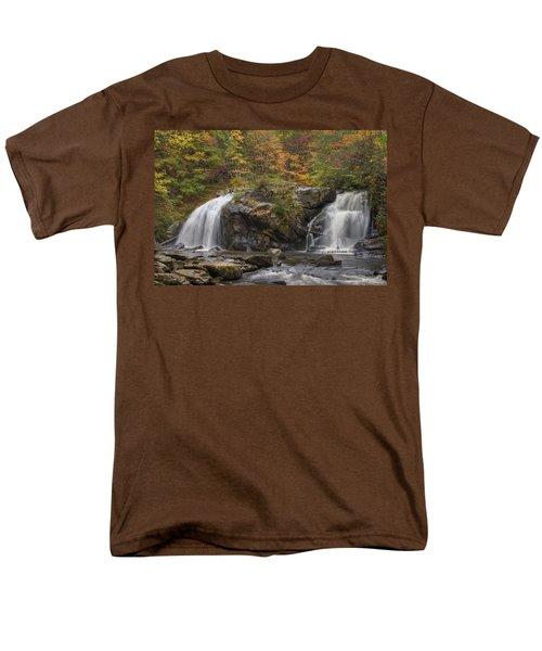 Autumn Cascades T-Shirt by Debra and Dave Vanderlaan