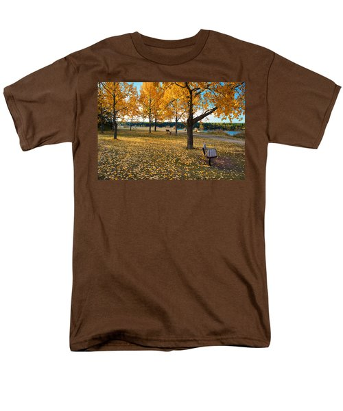 Autumn In Calgary T-Shirt by Trever Miller