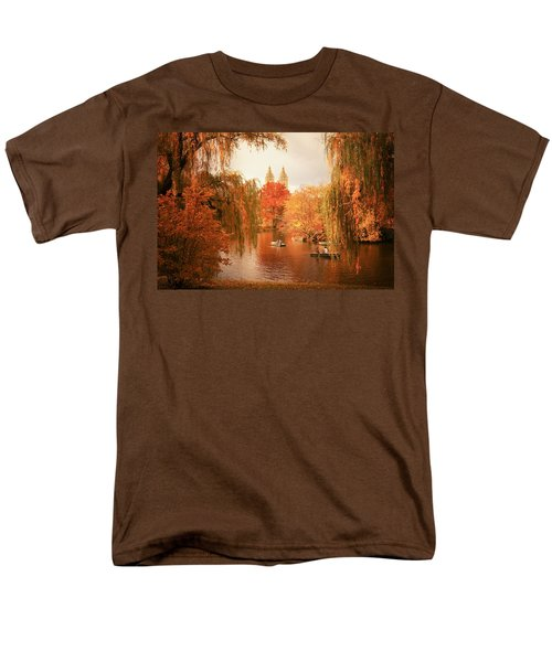 Autumn Trees - Central Park - New York City T-Shirt by Vivienne Gucwa