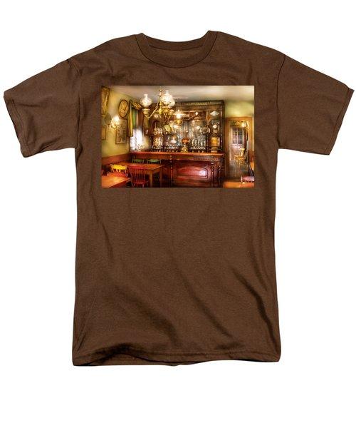 Bar - Bar and Tavern T-Shirt by Mike Savad