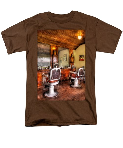 Barber - The Barber Shop II T-Shirt by Mike Savad