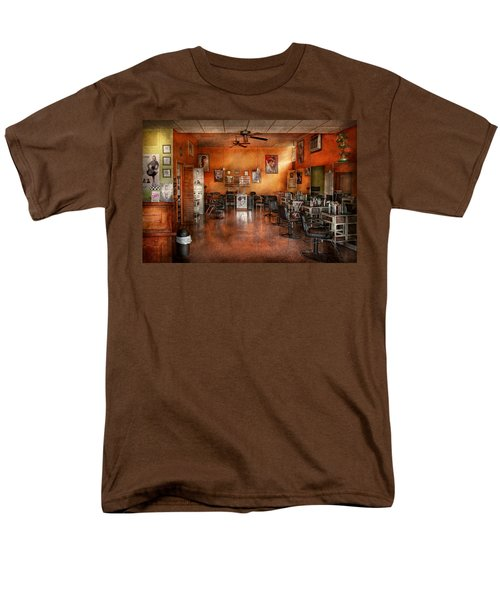 Barber - Union NJ - The modern salon  T-Shirt by Mike Savad