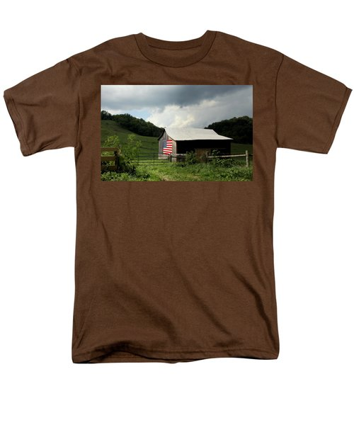 Barn in the USA T-Shirt by KAREN WILES