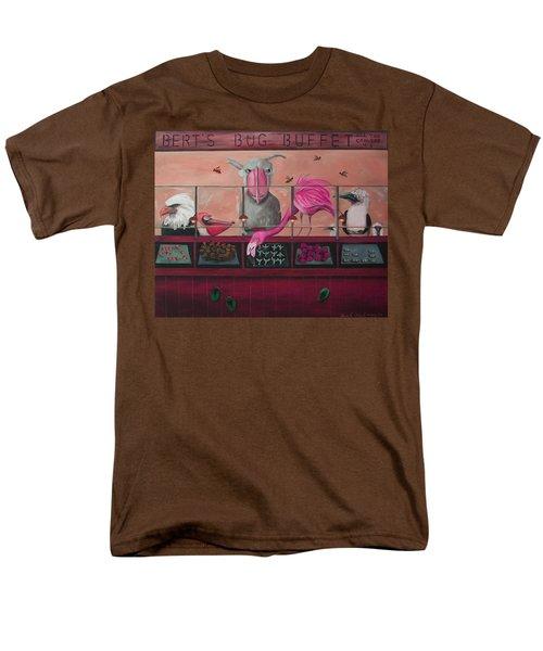 Bert's Bug Buffet Edit 2 Men's T-Shirt  (Regular Fit) by Leah Saulnier The Painting Maniac