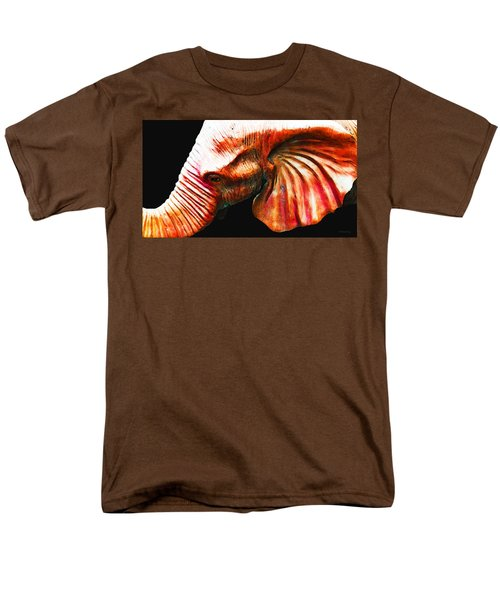 Big Red - Elephant Art Painting T-Shirt by Sharon Cummings