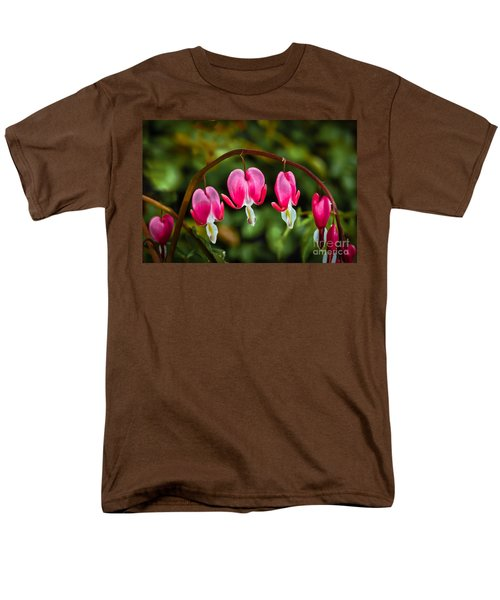 Bleeding Hearts T-Shirt by Robert Bales