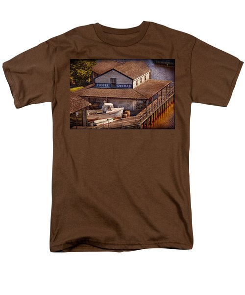 Boat - Tuckerton Seaport - Hotel DeCrab  T-Shirt by Mike Savad