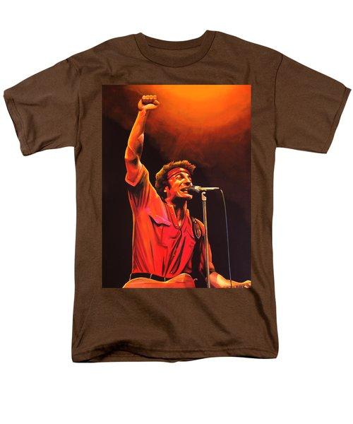 Bruce Springsteen T-Shirt by Paul  Meijering