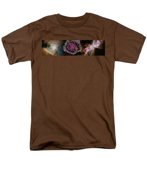 Cabbage With Butterfly Nebula Men's T-Shirt  (Regular Fit) by Panoramic Images