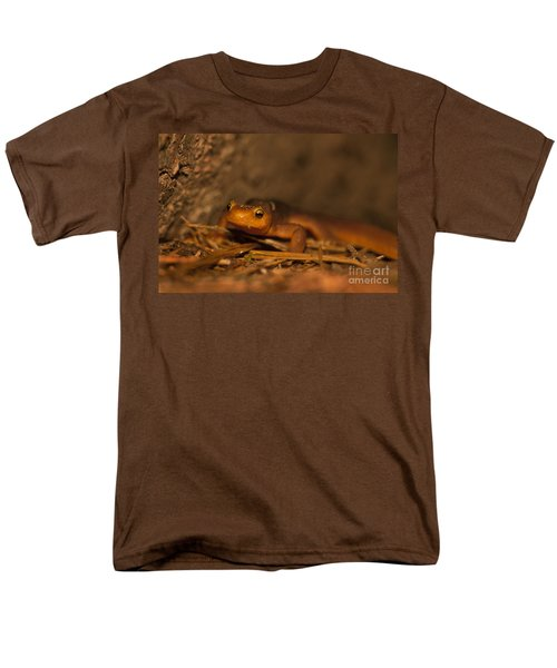 California Newt Men's T-Shirt  (Regular Fit) by Ron Sanford