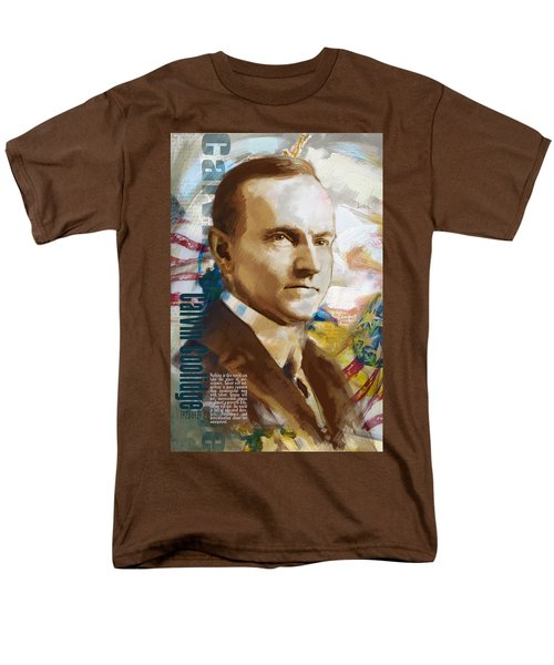 Calvin Coolidge T-Shirt by Corporate Art Task Force