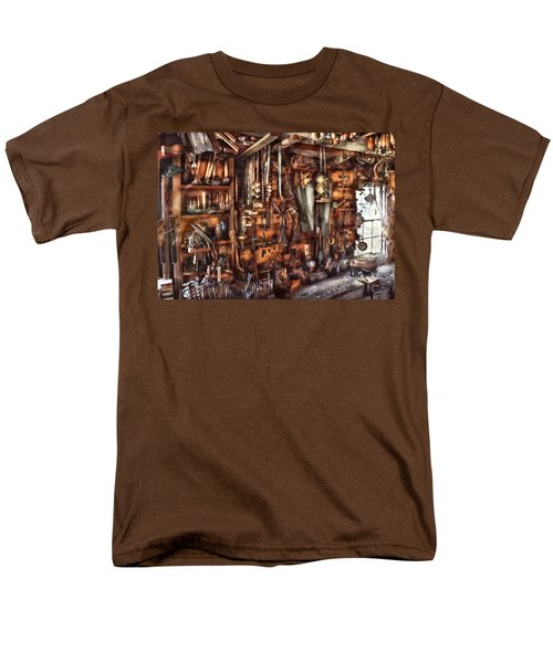 Carpenter - That's a lot of tools  T-Shirt by Mike Savad