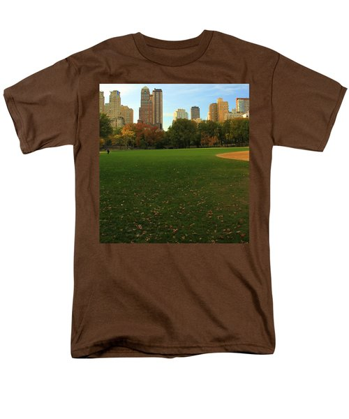 Central Park In Autumn Men's T-Shirt  (Regular Fit) by Dan Sproul