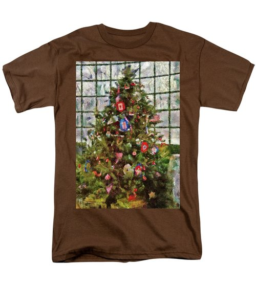 Christmas - An American Christmas T-Shirt by Mike Savad