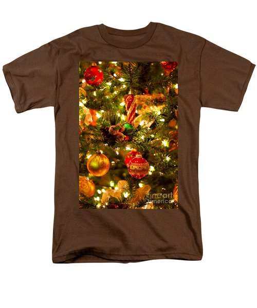 Christmas tree background T-Shirt by Elena Elisseeva