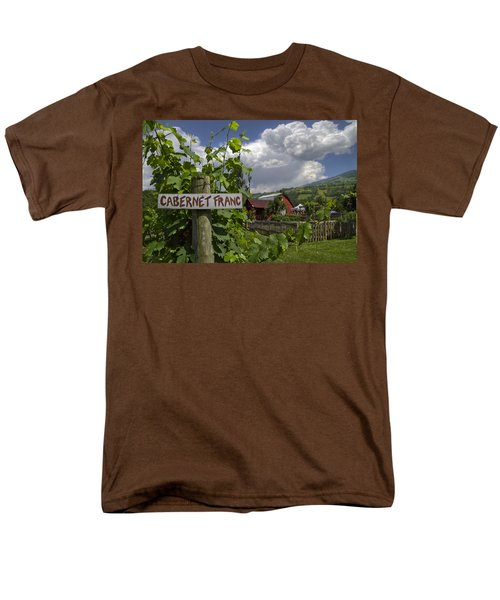 Crane Creek Vineyard T-Shirt by Debra and Dave Vanderlaan