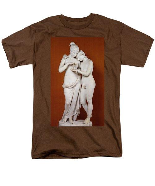 Cupid And Psyche Men's T-Shirt  (Regular Fit) by Antonio Canova